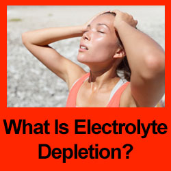 electrolyte depletion