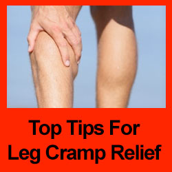 tips for leg cramp relief article